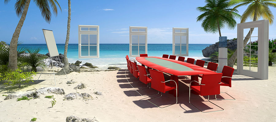 Board Room at The Beach