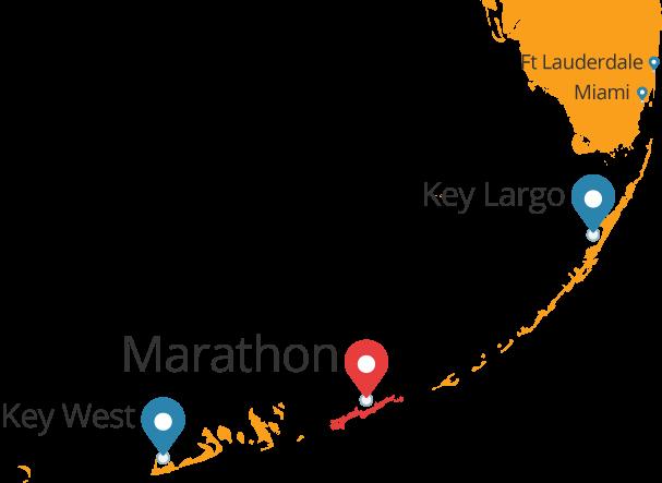 The Florida Keys Map
